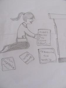 Cartoon of me!